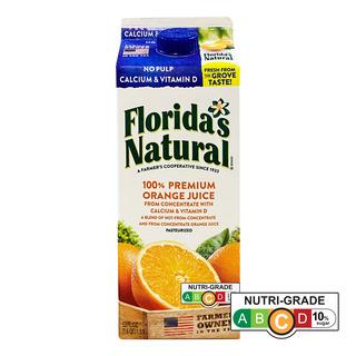 Florida's Natural 100% Orange Juice - No Pulp & Calcium