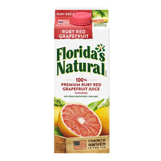 Floridas Natural Ruby Red Grapefruit Juice