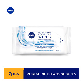 Nivea Cleansing Facial Wipes - 3 in 1 Refreshing