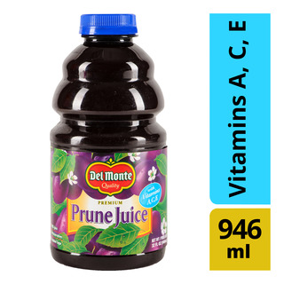 Del Monte Premium Prune Bottle Juice - Vitamin A, C, E