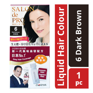Salon de Pro Liquid Hair Colour - 6 Dark Brown