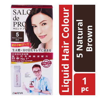 Salon de Pro Liquid Hair Colour - 5 Natural Brown