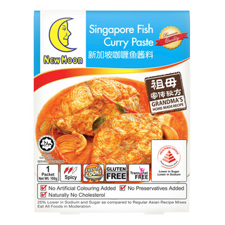 New Moon Curry Paste - Fish