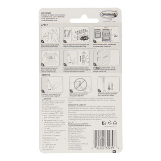 3M Command Picture Hanging Strips - Large