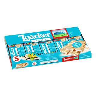 Loacker Crispy Wafers - Vanille