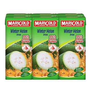 Marigold Packet Drink - Winter Melon (Less Sweet)