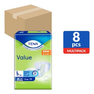 TENA Value Unisex Adult Diapers - L (114-147cm)