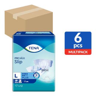 TENA Slip Plus Unisex Adult Diapers -L(92-144cm)