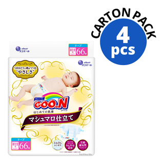 GOO.N Marshmallow Premium Soft Diapers - NB