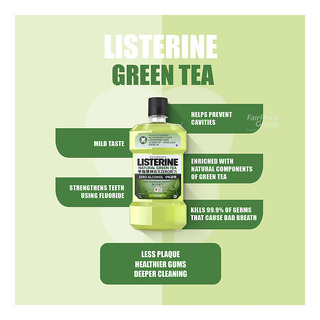 Listerine Mouthwash - Green Tea