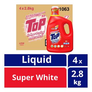Top Concentrated Liquid Detergent Bottle - SuperWhite