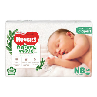 Huggies Platinum Diapers - New Born (0 - 5kg)