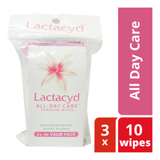 Lactacyd Feminine Wipes - All Day Care