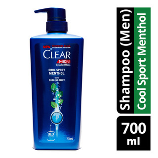 Clear Men's Anti-Dandruff Shampoo - Cool Sport Menthol