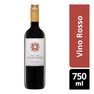 6a878cf30f74 Duca Del Valentino Red Wine - Vino Rosso 750ml