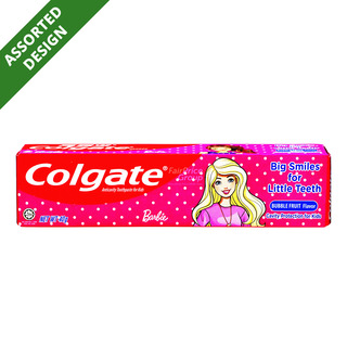 Colgate Kid Toothpaste - Barbie (Bubble Fruit)