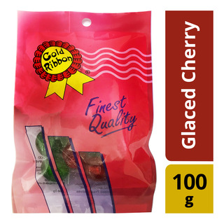 Gold Ribbon Glaced Cherry 100g| FairPrice Singapore