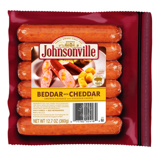 Johnsonville Sausages - Beddar Cheddar (Smoked)
