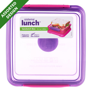 Sistema Lunch Food Container - Sandwich Box | FairPrice Singapore