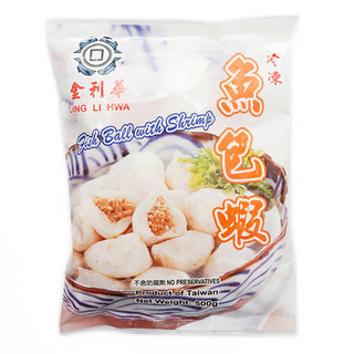 Jing Li Hwa Frozen Fish Ball - Shrimp
