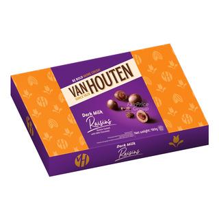 Van Houten Milk Chocolate Gift Tin - Raisins