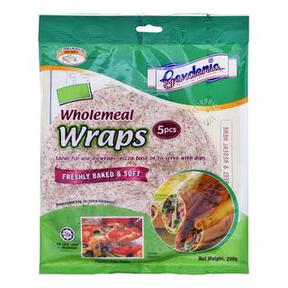 Gardenia Wraps -Wholemeal