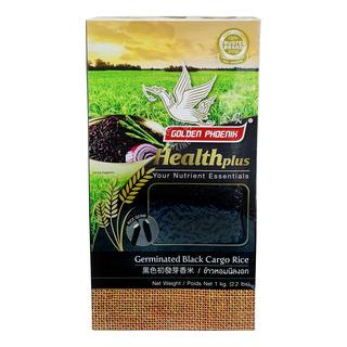 Golden Phoenix Germinated Cargo Rice - Black 1kg| FairPrice