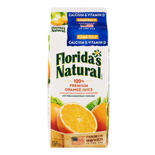 Florida's Natural 100% Orange Juice - Pulp & Calcium