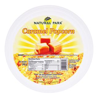 Natural Park Popcorn Tub - Caramel