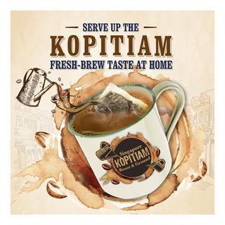 Owl Kopitiam Roast & Ground Coffee Powder - Heritage Blend