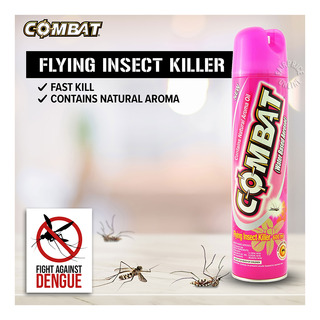 Combat Insect Killer Spray - Flying (Natural Aroma Oil)