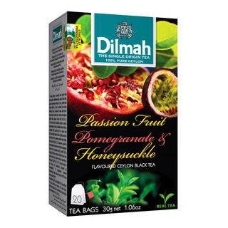 Dilmah Ceylon Tea Bag - PassionFruit,Pomegranate&Honeysuckle