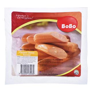 BoBo Frozen Chicken Sausage - Cheese