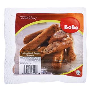 BoBo Frozen Chicken Sausage - Blackpepper
