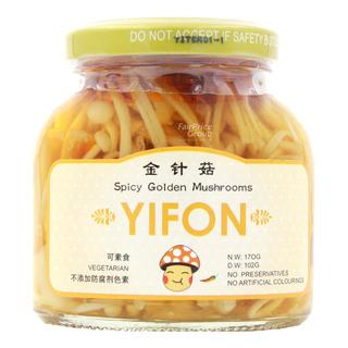 Yifon Spicy Mushrooms - Golden