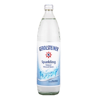 Gerolsteiner Sparkling Natural Mineral Water Bottle