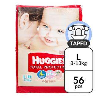 Huggies Total Protection Diapers - L (8 - 13kg)