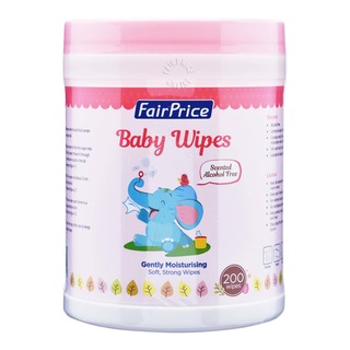 FairPrice Baby Wet Wipes - Gently Moisturising