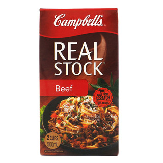 Campbell's 100% Natural Real Stock - Beef