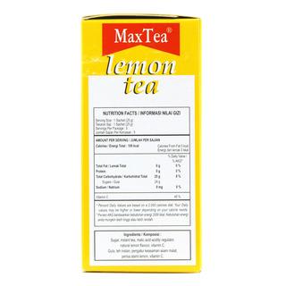 MaxTea Instant Drink - Lemon Tea