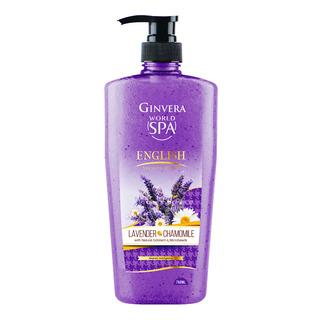 Ginvera World Spa Shower Scrub - English (Lavender & Chamomil