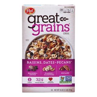 Post Great Grains Cereal - Raisins, Dates & Pecans