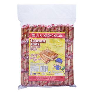 Khong Guan Sandwich Biscuits - Lemon Puff