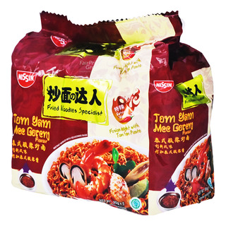 Nissin Instant Fried Noodles Specialist - Tom Yum Mee Goreng