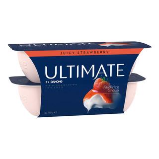 Danone Ultimate Yoghurt Succulent Strawberry