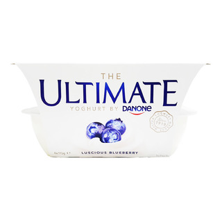 Danone Ultimate Yoghurt - Luscious Blueberry