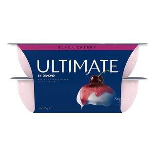 Danone Ultimate Yoghurt - Black Cherry