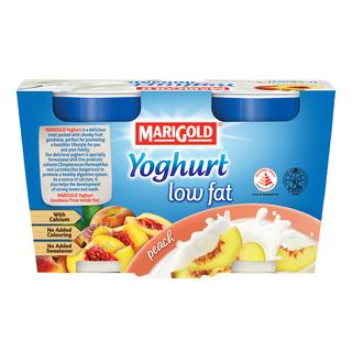 Marigold Low Fat Yoghurt - Peach