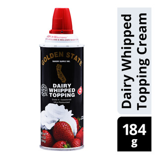 Golden State Dairy Whipped Topping Cream