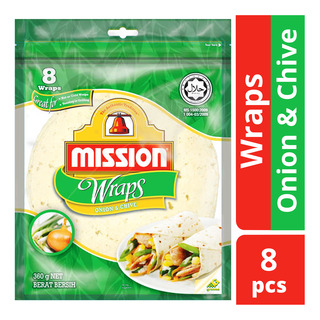 Mission Wraps - Onion & Chive